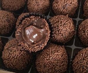 food, chocolate, and sweet image