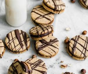 Cookies, sweet, and chocolate image