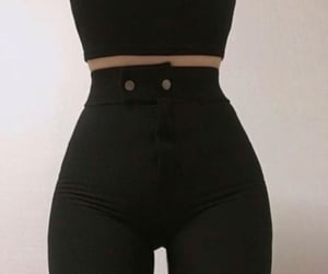 black, curvy, and skinny image
