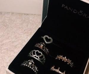 pandora, rings, and ring image
