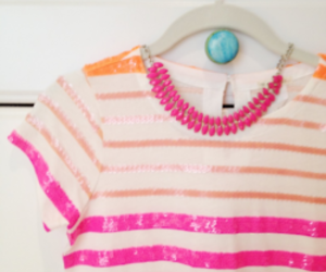 fashion, pink, and orange image