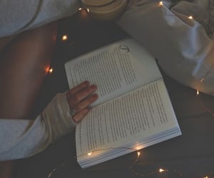 books, reading, and winter aesthetic image