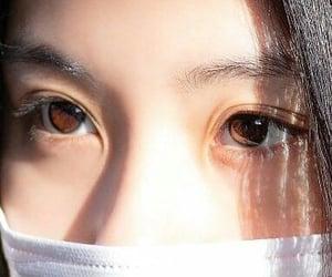 aesthetic, eyes, and kpop image