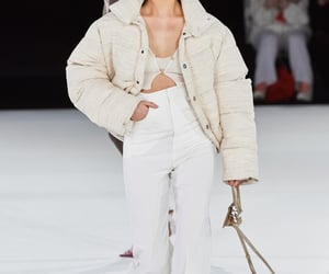 cream, fashion, and outfit image