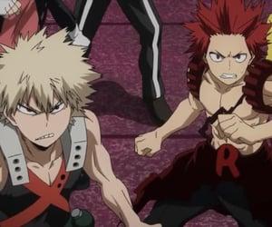 kirishima, mha, and boku no hero academia image