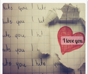 I Love You, relationships, and love image