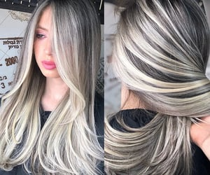 Blonde Ash Balayage and Highlights