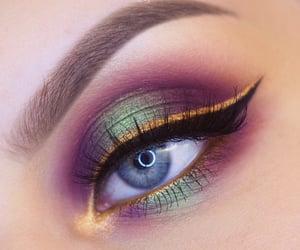 make up, beauty, and eyeshadow image