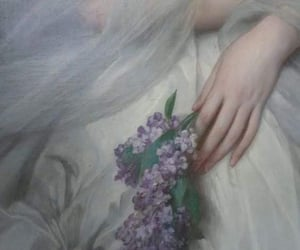 art, details, and white dress image
