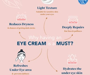eye cream, under eye cream, and natural eye cream image