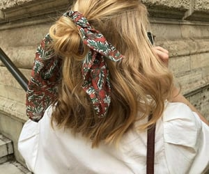 cabelo, girl, and hair image