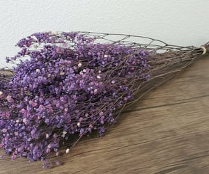 baby's breath, bouquet, and wedding flowers image