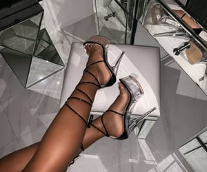 beauty, fashion, and heels image
