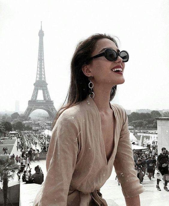 fashion, france, and travel image