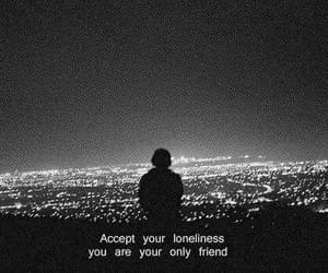 loneliness, alone, and quotes image