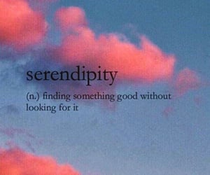 wallpaper, quotes, and serendipity image