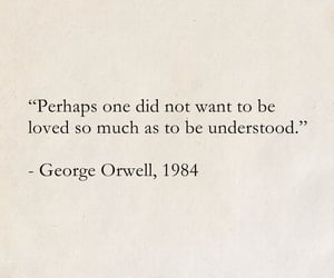 quotes, George Orwell, and words image