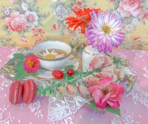 dessert, tea, and entertaining image