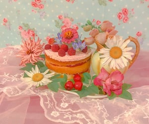 culinary, dessert, and flowers image