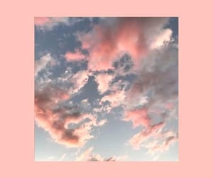 wallpaper, clouds, and pink image