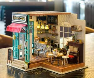 etsy, dollhouse kit, and artandcollectibles image