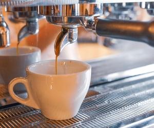 bar, barman, and cappuccino image