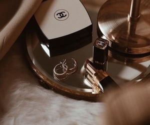 chanel, aesthetic, and gold image