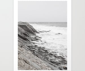 art print, photography, and cliffs image