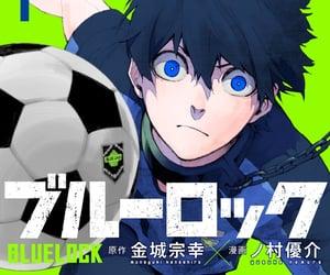 manga, blue lock, and anime image