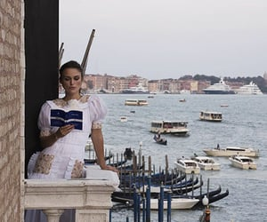 venice, book, and keira knightley image