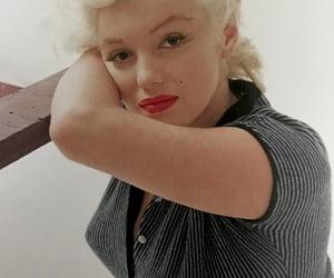 1950s, Marilyn Monroe, and milton greene image