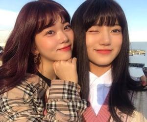 couple, selca, and kpop girls lq image