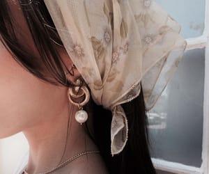 aesthetic, earrings, and hair image