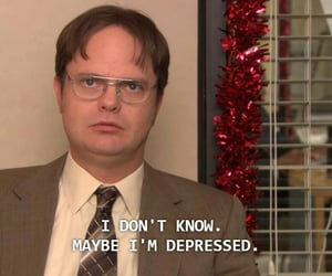 aesthetic, funny, and the office image