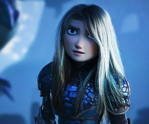 animation, movie, and astrid image