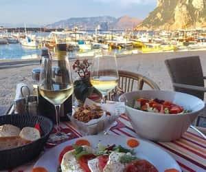 capri, food, and italy image