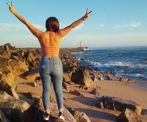 free, ocean, and por do sol image