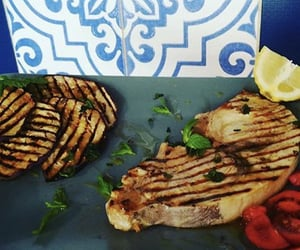fish, food, and tasty image
