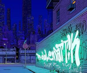 art, cyberpunk, and digital image
