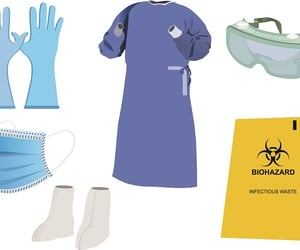 n95 mask, surgical masks, and ppe kits image