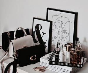 bags, cosmetics, and purse image
