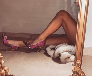 classy, heels, and glam image