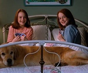 movie, lindsay lohan, and the parent trap image