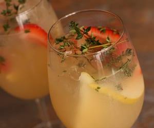 cocktail, apple juice, and lemonade image