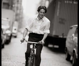 actor, hugh grant, and black and white image