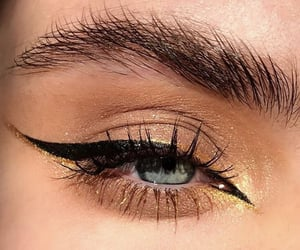 eyeliner, beauty, and makeup image