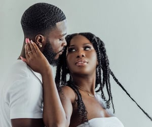 African, black love, and married image