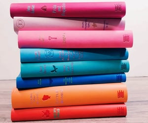 beautiful, books, and colors image