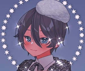 anime, glitter, and theme image