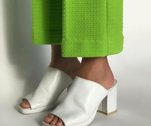 white heels shoes, white aesthetic, and outfit inspiration inspo image